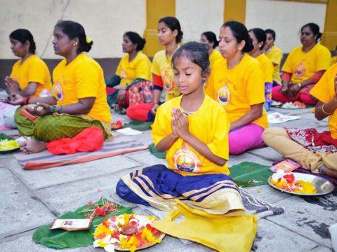 International Residential Yoga Camp