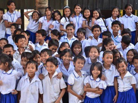 Hairdressing, volunteering, Cambodia