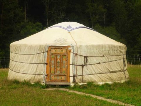 yurta - building - home - shed - greenhouse - tent