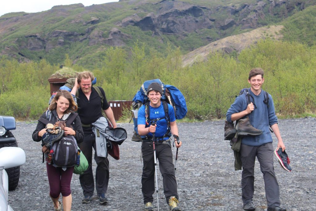 Volunteering in Iceland