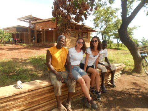 mud building in ghana
