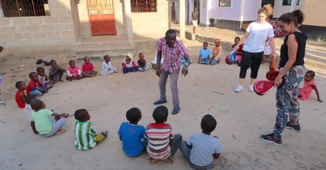 volunteering in Tanzania -Samaritan project