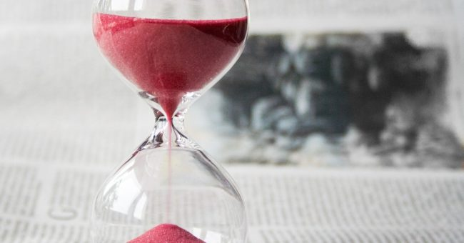 Time, hourglass