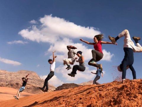 live in the desert, wadi rum volunteer programs, volunteer in Jordan, volunteering in the desert