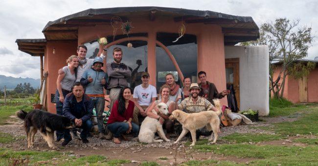 wwoofing in Ecuador, organic farm, permaculture, wwoof Ecuador, workaway, volunteer team