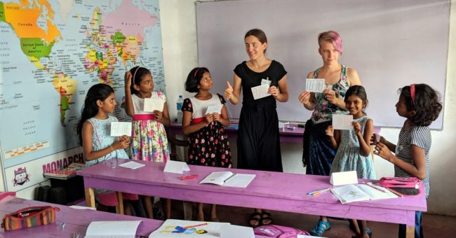 teaching english, sri lanka, teachers, volunteering, exchange, free food and accommodation
