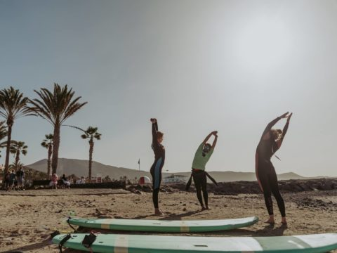 Twin fin, yoga, surf, Gran Canaria, Tenerife, Canary islands, volunteering, volunteer, food and accommodation, hospitality exchange, island, Spain, voluntouring