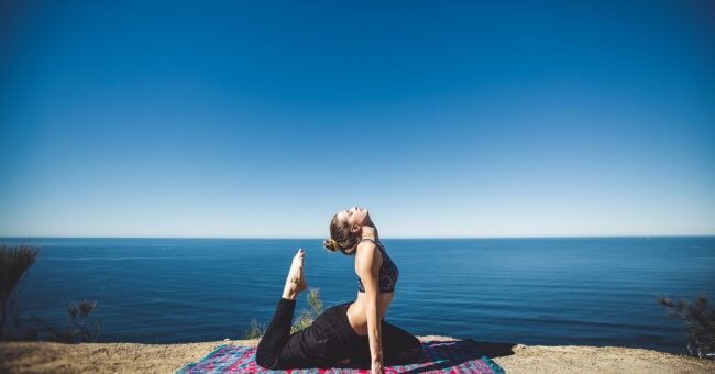 Meditation, yoga, spirituality, retreat, beach, sea, acroyoga, energy, chi, girl,