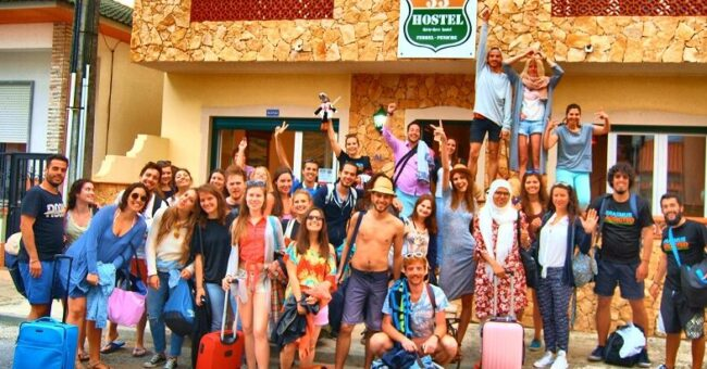 hostel exchange, portugal, peniche, volunteering, volunteer, food and accommodation, free hospitality