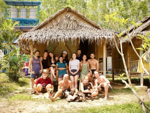 ecovillage, thailand, intentional community, volunteering, volunteer team, voluntouring, voluntourism