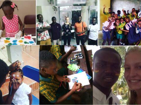 volunteer in Accra, volunteer program, teaching, art, german, Africa, project abroad, voluntouring, voluntourism, solidarity, justice tourism, eco vacation, cultural exchange, youth, african children