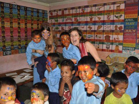 free, volunteer projects, Nepal, voluntouring, voluntourism, volunteering, abroad, sabbatic, food and accommodation, children, nepalese, volunteer woman, exchange, cultural