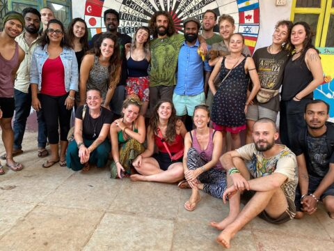 volunteers, india, goa, projects abroad, food and accommodation, cultural exchange, eco-center, intentional community, ecovillage