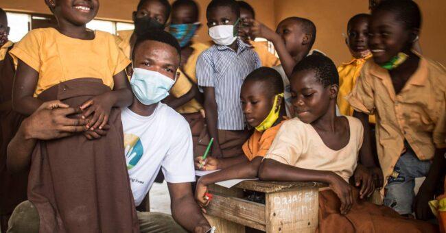 volunteer experience in Ghana